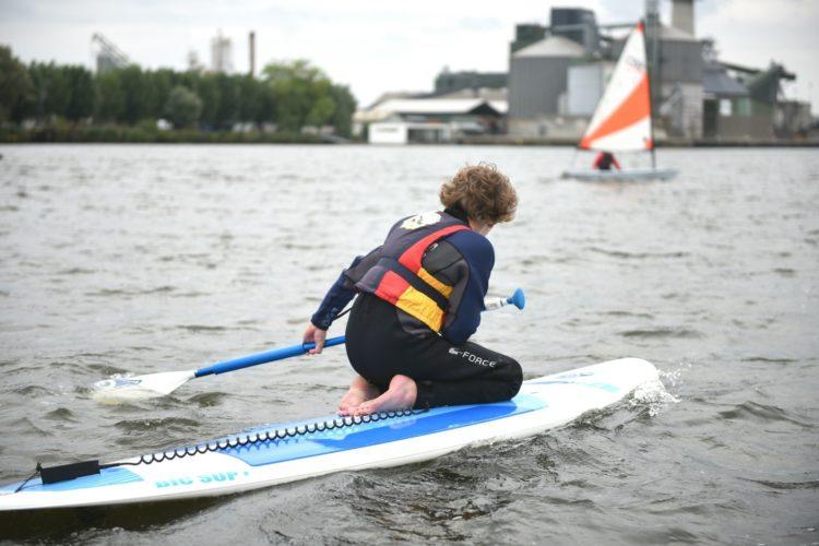 Stand Up Paddle i Randers Sejlklub